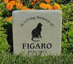 cat memorial personalized cat gravestones and memorial stones kingcustom net
