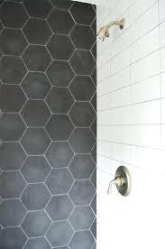 white hexagonal gloss mosaic wall floor tiles ceramic sheets