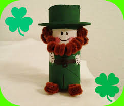 st patrick u0027s day crafts cutest paper roll leprechaun youtube