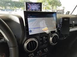 jeep wrangler yj dashboard jk 10 1 android stereo install wrangler