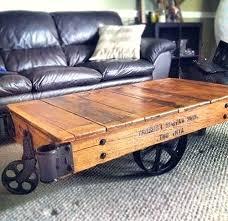 railroad cart coffee table restoration hardware cart coffee table coffee tables beautiful