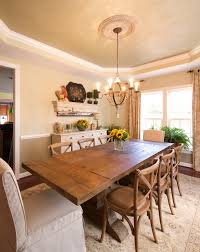 Chic Dining Rooms Vintage Meets Shabby Chic Dining Ro Farmhouse Dining Room Dc