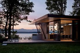 case inlet retreat within the forest modern cabins