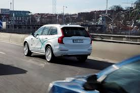 volvo test drive volvo to test 100 autonomous cars in london by 2018