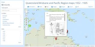 Map Of Queensland Open Data And Australian History Exploring 10 000 Photos And