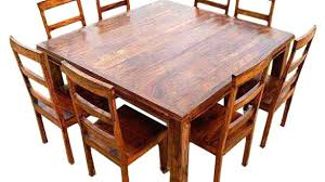 rustic square dining table square dining room tables likeable wood rustic square dining table