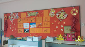 Notice Board Decoration On New Year by Mjs 4 Compassion 2014 Chinese New Year Classroom Decoration