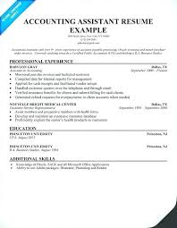 accounting resume exles sle accounting resumes