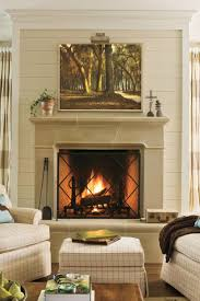 Log Cabin Fireplace Mantels 25 Cozy Ideas For Fireplace Mantels Southern Living