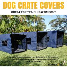 Dog Crate Covers Somerzby Dog Crate Covers Weatherproof Heavy Duty Canvas