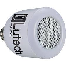 Led Light Bulb Speaker Custom Logoed Zeus Led Light Bulb Bluetooth Speaker