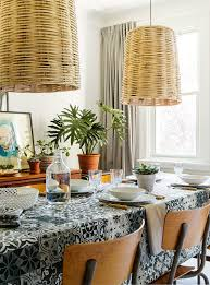 trendy printed tablecloths available online simons
