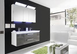 badezimmer set günstig badezimmermöbel doppelwaschbecken grau gispatcher