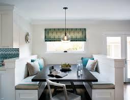 Kitchen Nook Ideas Contemporary Kitchen With Pale Orange Breakfast Nook And Corner