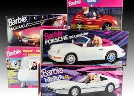 barbie porsche five 1990s barbie vehicles jaguar xjs ferrari porsche 911