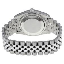 silver rolex bracelet images Rolex oyster perpetual datejust 36 silver dial stainless steel jpg