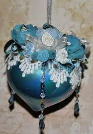 beaded ornaments handmade world heirloom