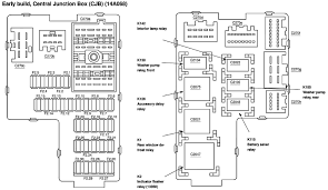 ford thunderbird fuse box diagram tractor parts service and