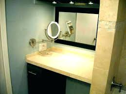 wall vanity mirror with lights wall mounted vanity mirror with lights lighted bathroom mirrors