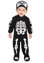 Skeleton Jumpsuit Baby Bitty Bones Escapade Uk