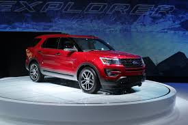 Ford Explorer Colors - 2017 ford explorer redesign 2016 ford escape refresh 2016 ford
