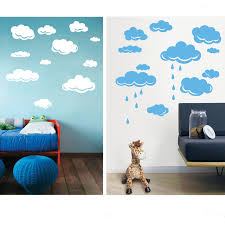 wall stickers for bedrooms online video game gaming gamer wall free shipping rain drops clouds vinyl wall sticker for kids room wall art decor children nursery