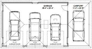 how big is a three car garage 3 car garage dimensions standard google search carport