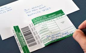 how to prepare and mail certified letters bizfluent