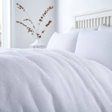 linea white waffle duvet cover set house of fraser