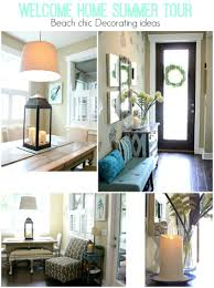 summer home decor ideas beach chic decor welcome home summer tour fresh idea studio