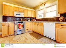 Kitchens With Yellow Cabinets Light Yellow Kitchen With Dark Cabinets Yellow Kitchen With Wood