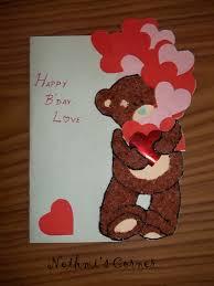 birthday cards for boyfriend my teddy birthday card nethmi s corner