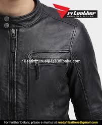 leather cycle jacket 2017 winter season sale fashion men leather faded seam cycle