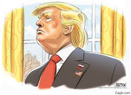Eussian Flag Trump Wears Russian Flag Lapel Pin
