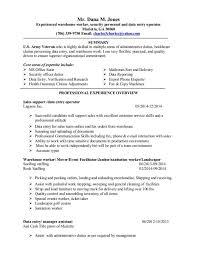 data entry cover letter chronological order resume demonstration