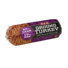 turkey shop heb everyday low prices online h e b ground turkey lean 85