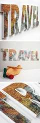 Travel Bedroom Decor by Ten Crafty Travel Projects Shadowbox Ideas Devon And Cap
