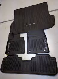lexus es 350 floor mats black 2016 lexus rx oem mat digital liner tub style all weather carpet