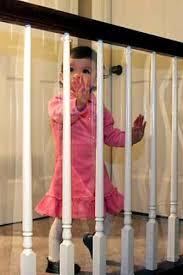 Indoor Banister Amazon Com Kid Shield Indoor Banister Guard Clear 30 Ft X 33