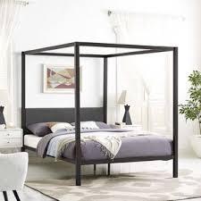 Wood Canopy Bed Frame Wood Canopy Bed Frame Wayfair