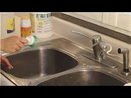 kitchen cleaning how to remove rust stains from a faucet youtube