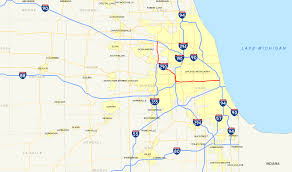 Us Map Chicago by Interstate 290 Illinois Wikiwand