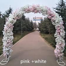 wedding arch garland online shop upscale wedding centerpieces metal wedding arch door