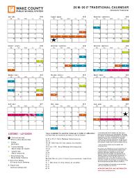 Wcpss Year Round Calendar 2017 Calendar 2017