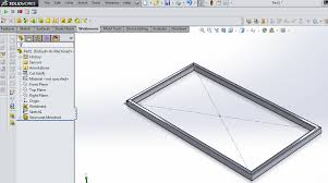 basic weldment profiles in solidworks 12cad com