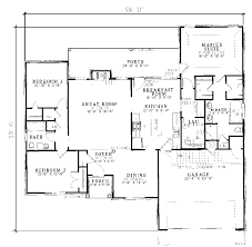 ranch house plans citadel traditional ranch home plan 055d 0055 house plans and more