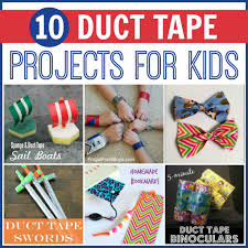10 duct tape projects for kids my joy filled life