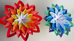Origami Home Decor by Diy Home Decor Paper Flower Easy And Simple Steps Youtube