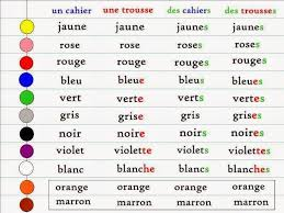 adjective agreement french 1 pinterest french grammar