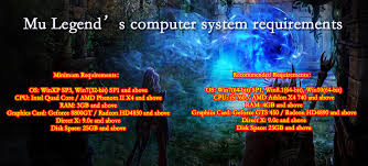 pubg pc requirements mu legend s computer system requirements okaymmo com
